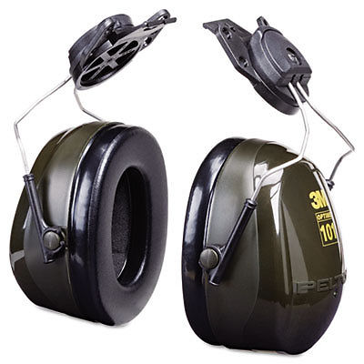Optime Earmuff Cap-Mount Headset, 24 Db Nrr