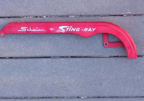 VINTAGE 1977 SCHWINN RED CHAIN GUARD FROM A 20