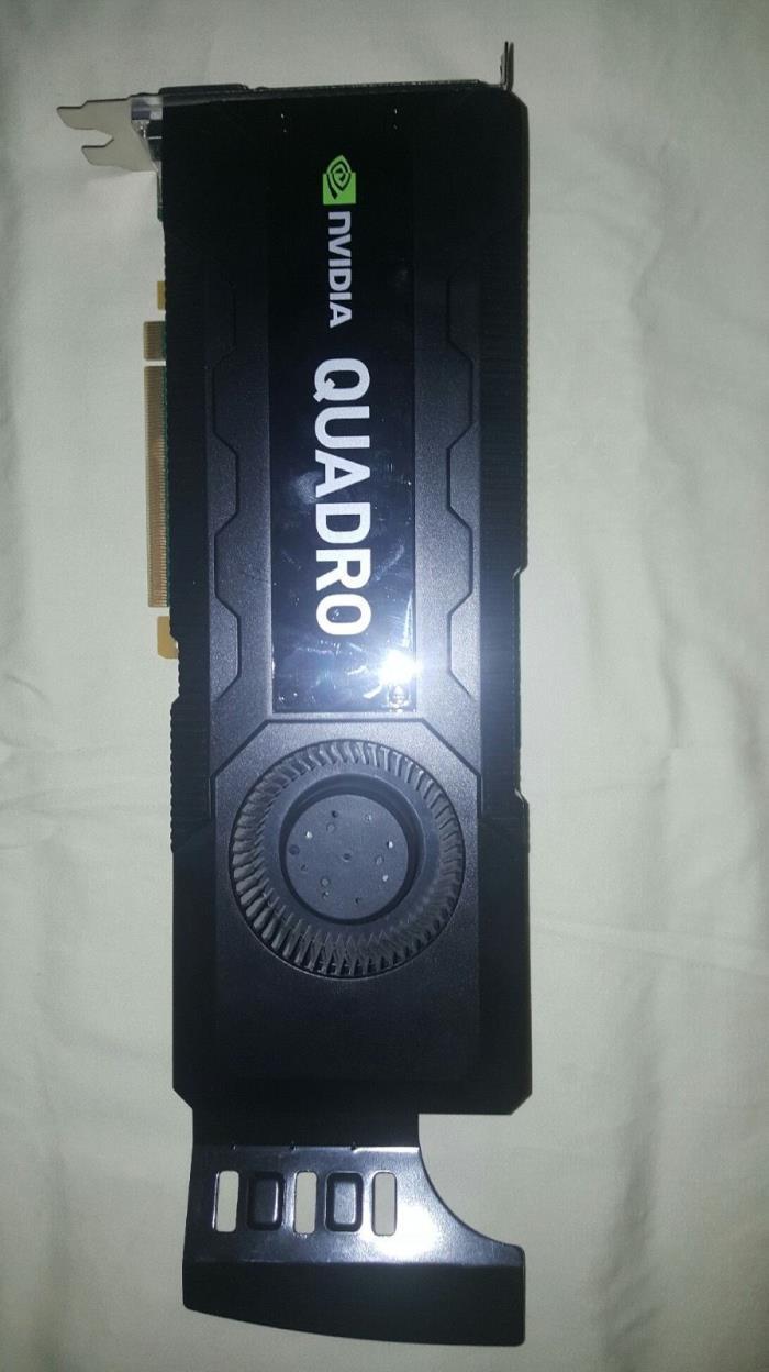 NVIDIA Quadro K5000 4GB GDDR5 - Good Condition!