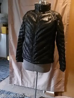 THE NORTH FACE Womens Flight Series 900 Down Puffer Jacket Black LG