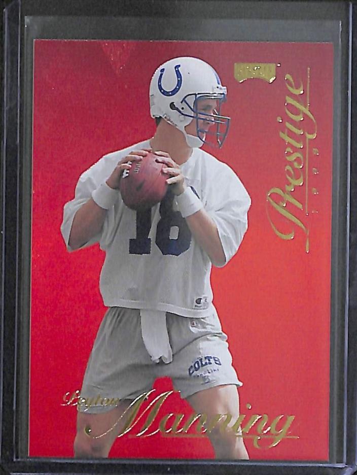 1998 Playoff Prestige Red #165 Peyton Manning