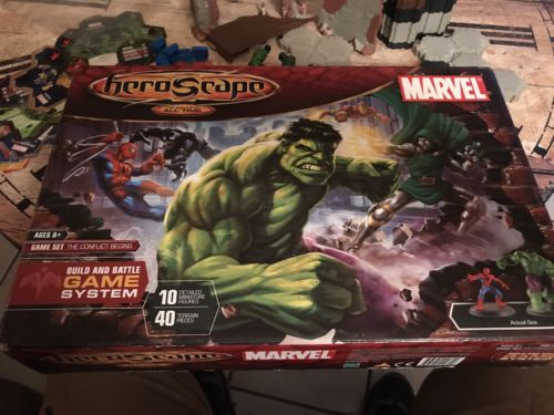 Heroscape The Conflict Begins Marvel Open Box Hasbro Build and Battle VHTF