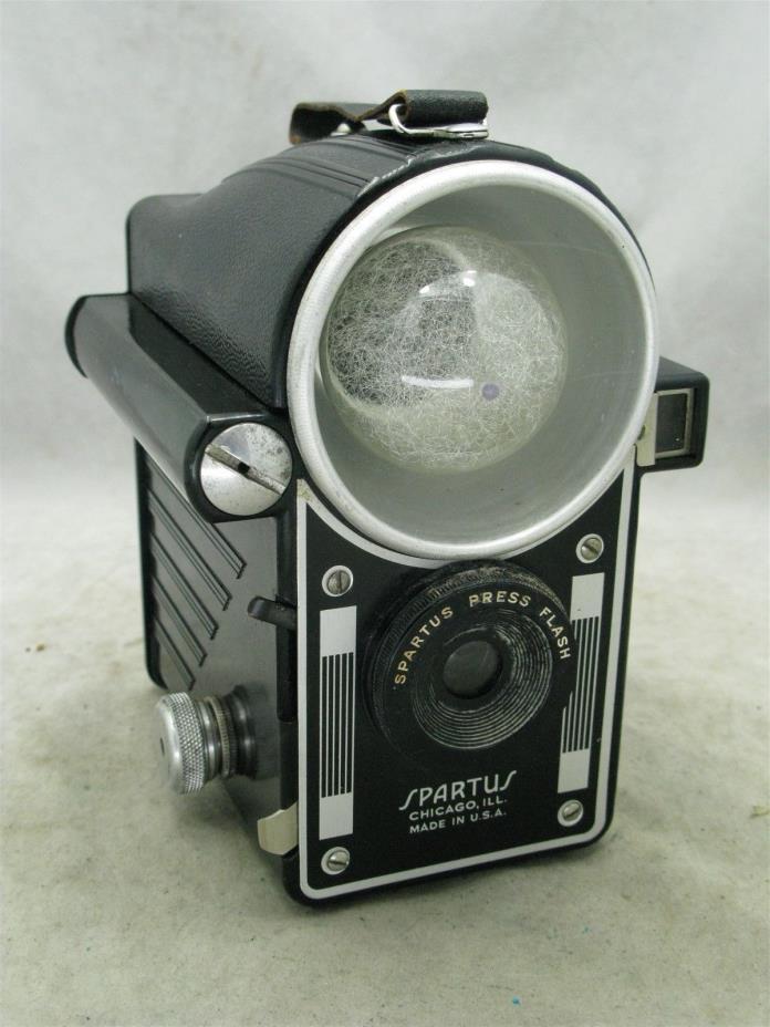 Spartus Press Flash 120 Film Camera