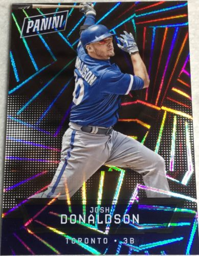 Josh Donaldson 32/99 2016 Panini National Silver Redemption Thick Hyper Foil #2
