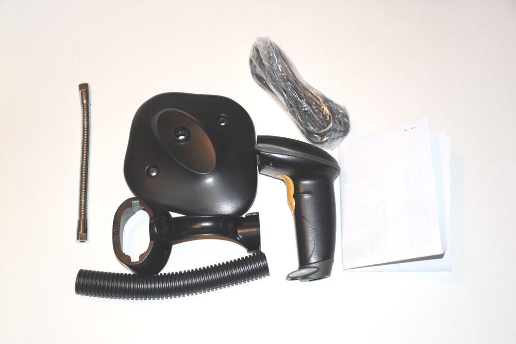 USB Automatic Barcode Scanner Scanning Bar-code Reader with Hands Free