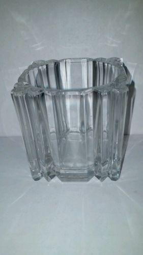 Studio Nova Legend Clear Glass Votive Candle Holder NIB Japan