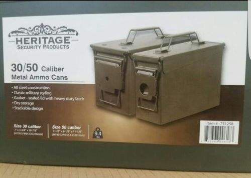 METAL AMMO box 2 PACK