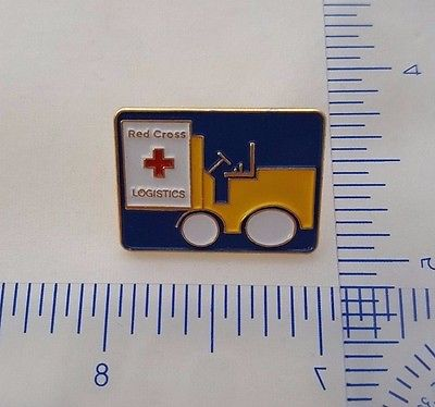 199x, James B. Bailey logistics pin of the American Red Cross