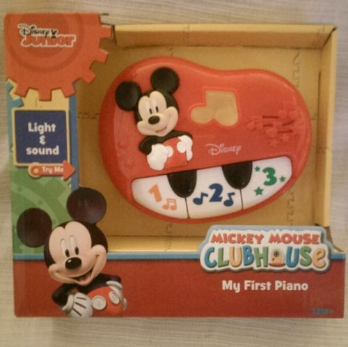 Disney Mickey Mouse Clubhouse My 1st Piano Musical Toy