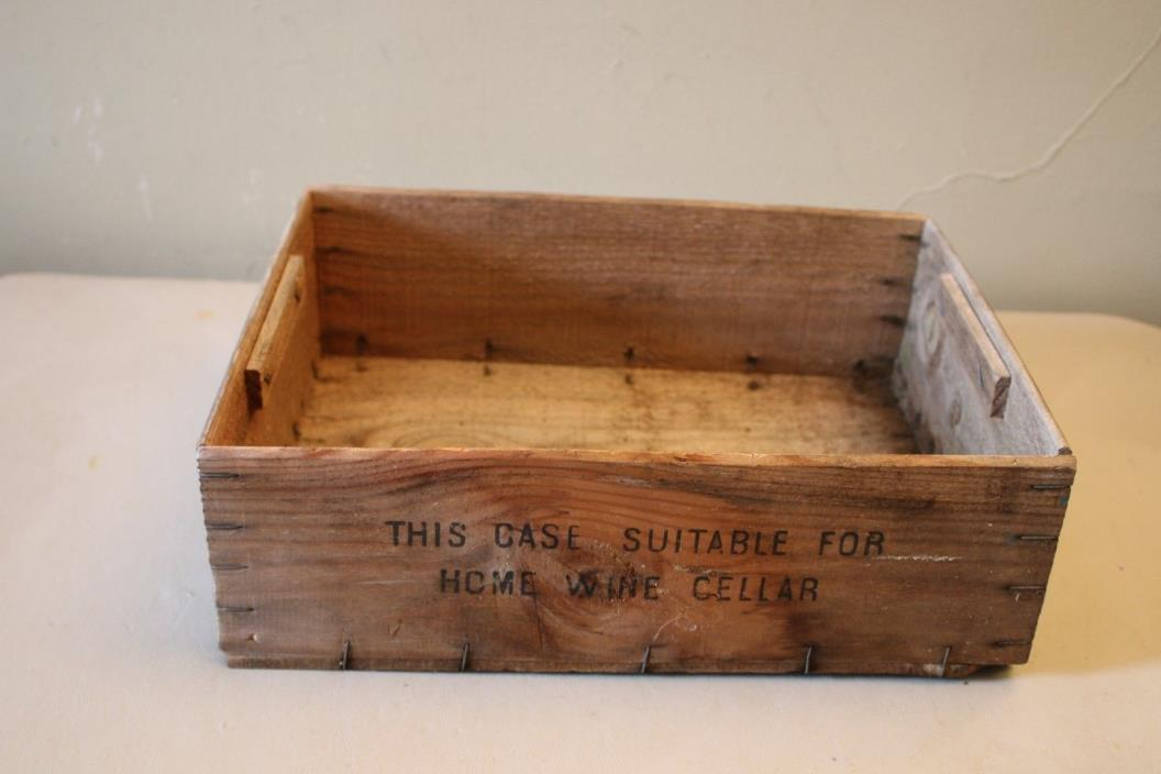 Wooden wine crates for sale classifieds for Wooden wine box garden