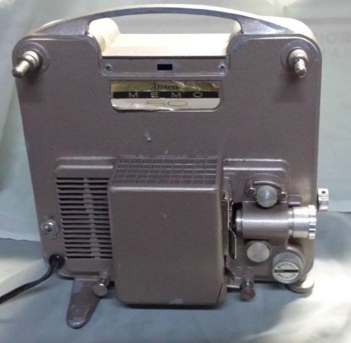 Vintage Ansco Memo 50 Film Projector Tested and Working