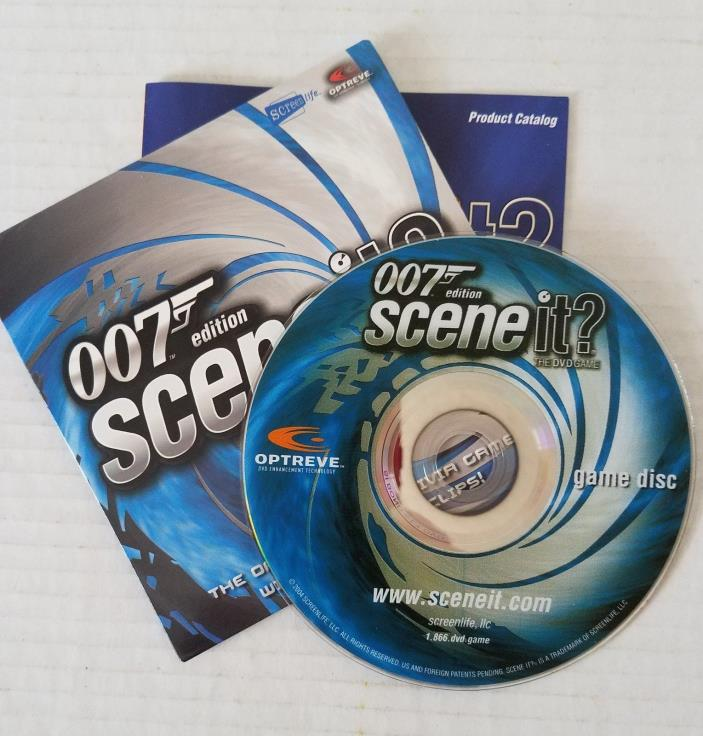 Game DVD Replacement Piece James Bond 007 Edition Scene It? The DVD Board Game
