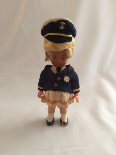 Antique Vintage Plastic? Celluloid? Sailor Doll Germany?