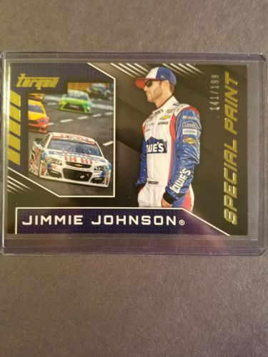 Jimmie Johnson Special Paint Gold Card # 141 of 199. 2016 Torque