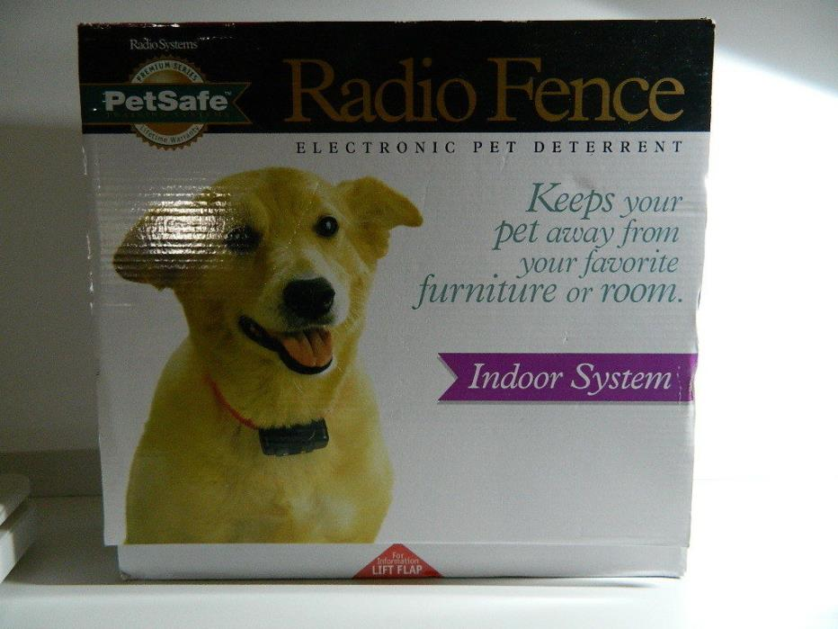 New Petsafe Radio Fence Indoor System Transmitter w/AC Adapter **Free Shipping**