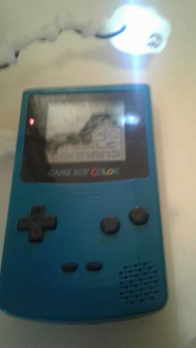 Nintendo Game Boy Color Launch Edition Teal Handheld System