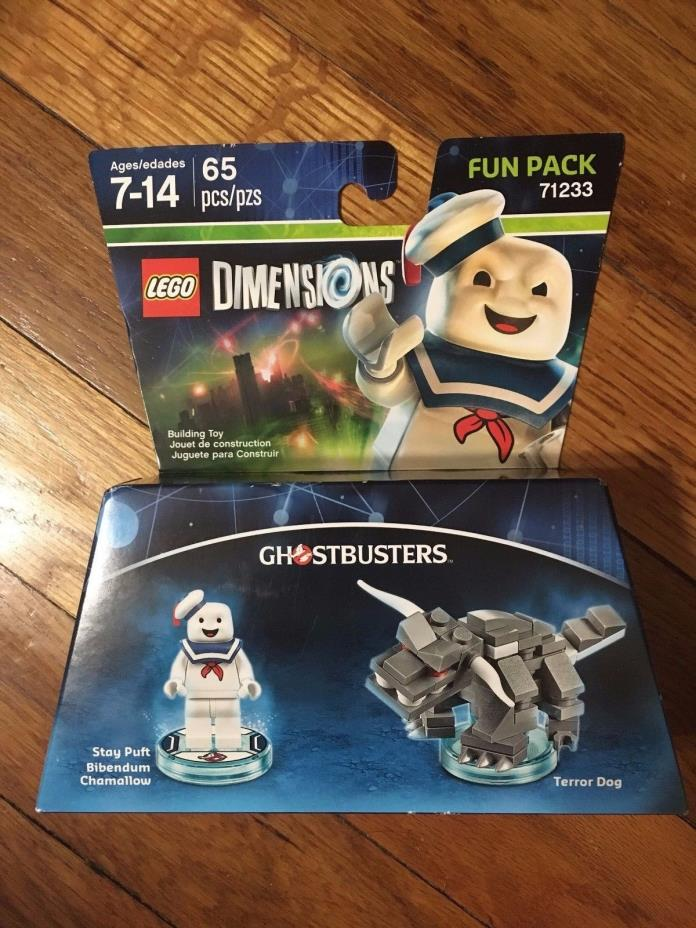 Lego Dimensions Ghostbusters Stay Puft Terror Dog Fun Pack 65 Pcs New Ships Fast