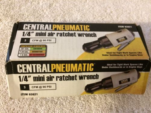 CENTRAL PNEUMATIC 1/4