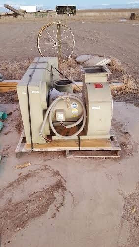 Murphy Rogers 10 HP 3 phase dust collector