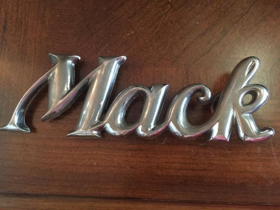 MACK TRUCK EMBLEM