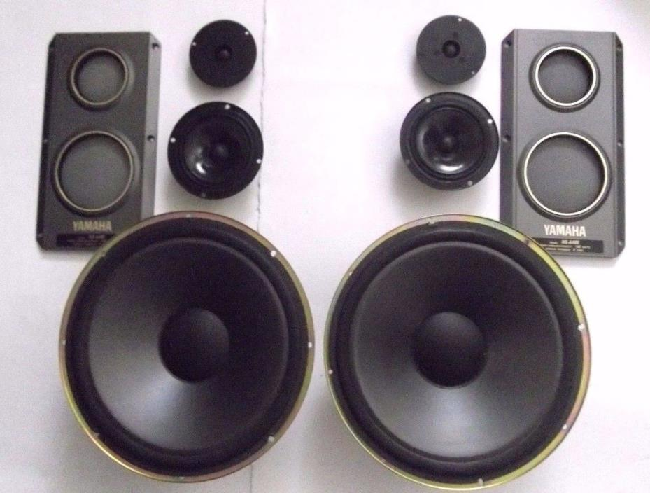 Yamaha NS-A400 NS-A Speakers - Tweeter & Mid Range Driver Covers Grills Plastic