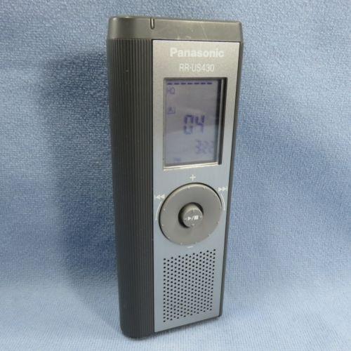Panasonic RR-US430 (33 Hours) Handheld Digital Transcriber / Recorder