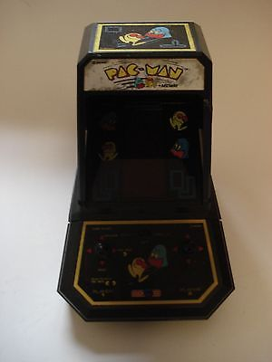 1980's COLECO PAC-MAN MINI VIDEO ARCADE GAME PACMAN ELECTRONIC