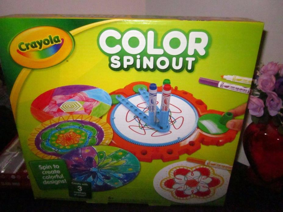 CRAYOLA COLOR SPIN OUT