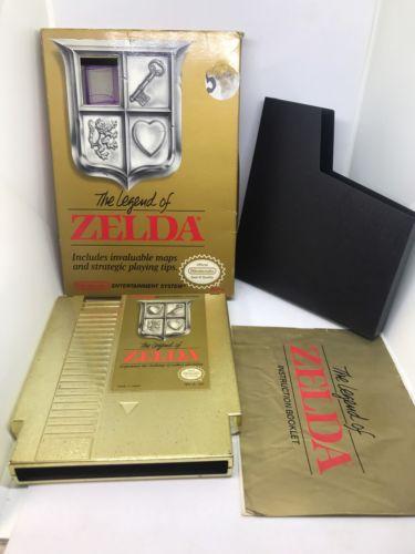 (MINT) Legend of Zelda (Nintendo Entertainment System) Comp FREE SHIPPING
