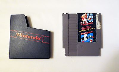 Nintendo Super Mario Brothers + Duck Hunt ( with cover )