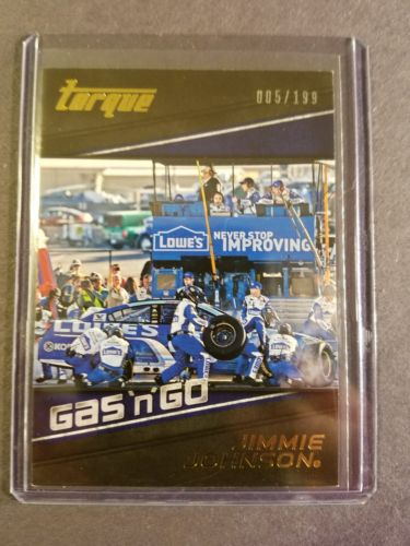 Jimmie Johnson Gas N Go Gold Card # 5 of 199. 2016 Torque
