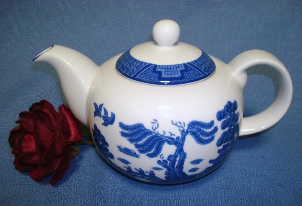SALE! $19.95  Royal Doulton Real Old Willow 'No Gold' Teapot
