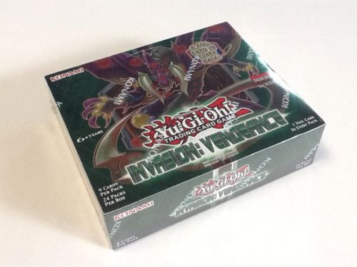 YuGiOh Invasion Vengeance 1st Edition English Sealed 24ct Booster Box Free Ship