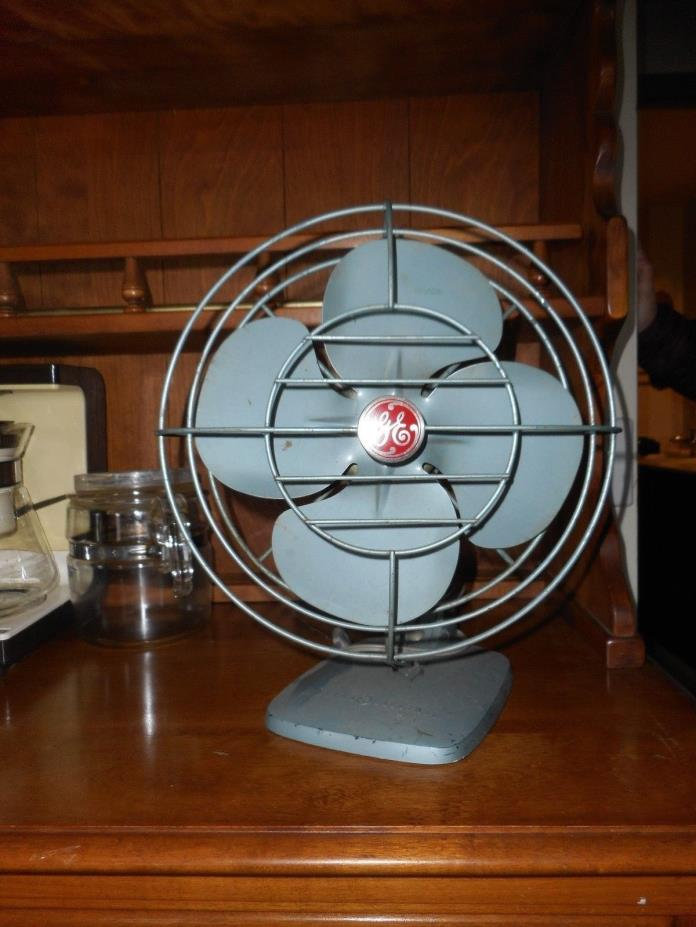 Vintage GE Metal Fan WORKS