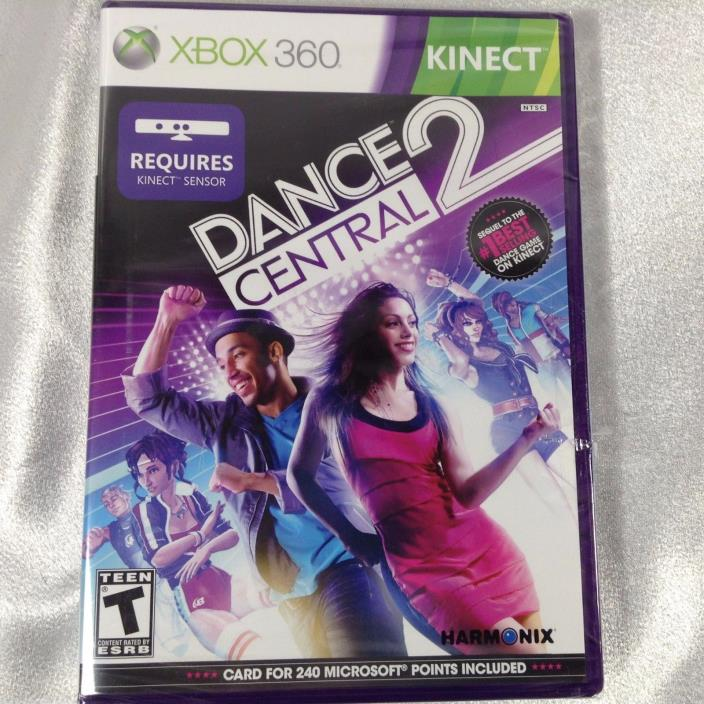 *NEW SEALED* ~ Dance Central 2 Xbox 360 Kinect Microsoft Full Game