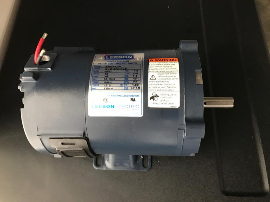 Dc Motor Leeson For Sale Classifieds