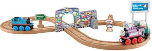 Fisher-Price Thomas The Train Wooden Railway Summer Day Beach Set
