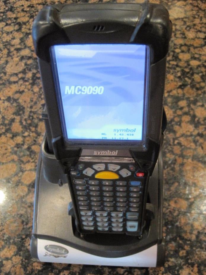 Symbol Motorola MC9090- KUOHJEFA6WR Wireless Barcode Scanner Windows