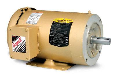 CEM3554T  1 1/2 HP, 1760 RPM NEW BALDOR ELECTRIC MOTOR
