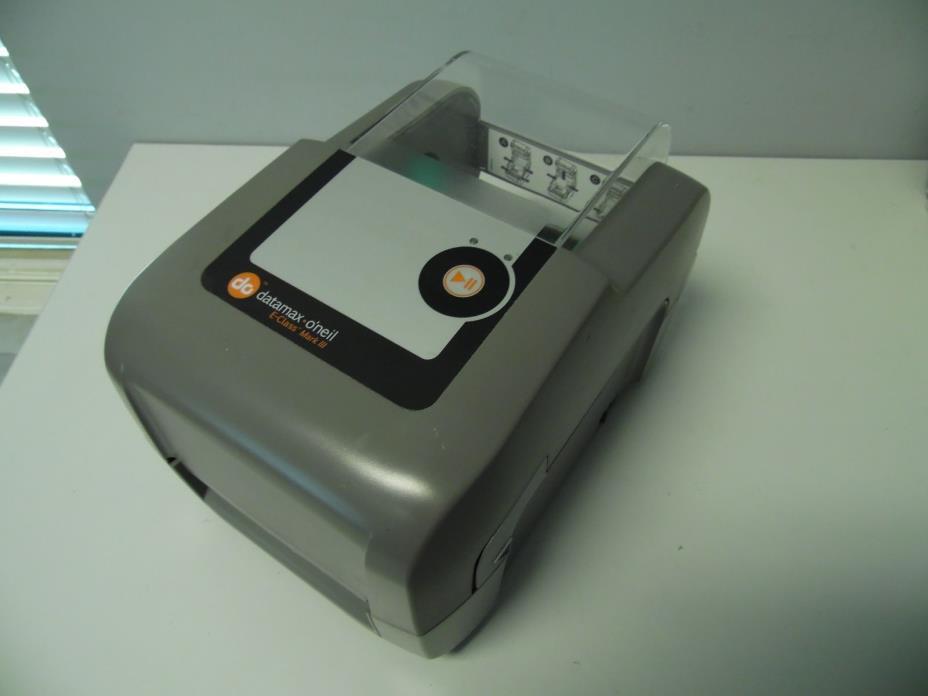 Datamax Mark III E-Class E-4305A Thermal Label Printer Good Condition