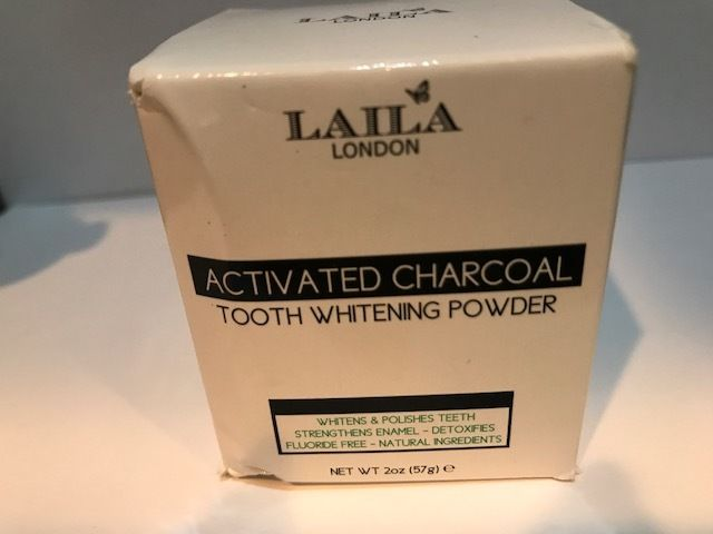 Activated Charcoal Tooth Powder 2 oz Herbal Organic 100% Natural Fluorid...