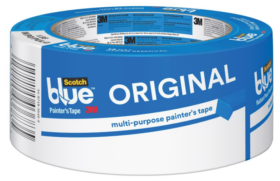3M ScotchBlue General-Use 1.88in. Original Multi-Use Blue Painter's Masking Tape