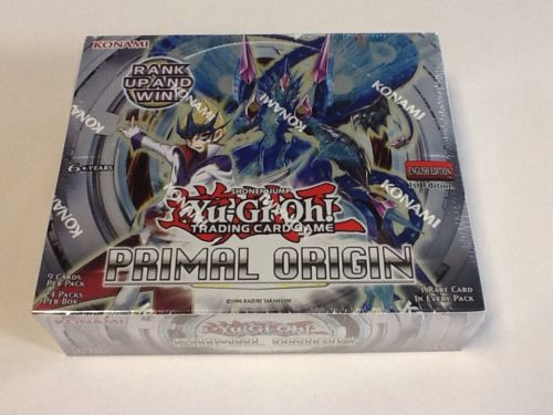 YuGiOh Primal Origin 1st Edition English Sealed 24ct Booster Box Free Shipping
