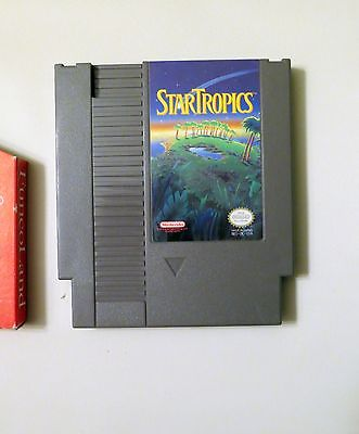 Nintendo NES Star Tropics