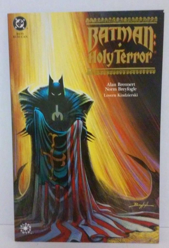DC COMICS Batman: Holy Terror Prestige Trade Paperback TPB (1st Print)
