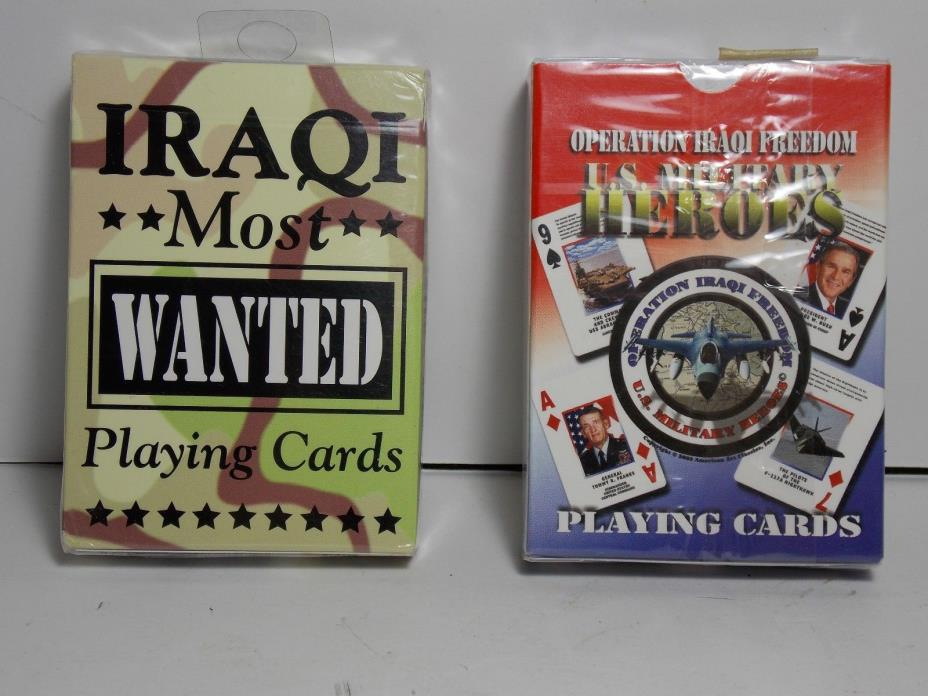 most-wanted iraqi playing cards - News Search - AIOIS ...