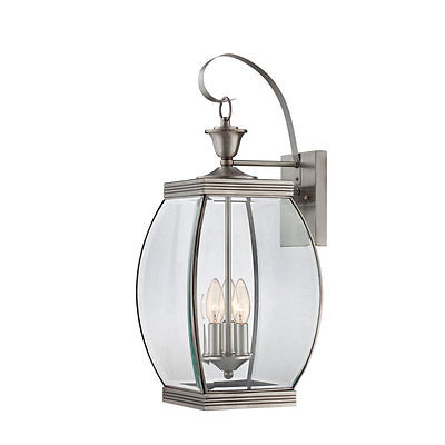 One Allium Way Goulaine 3-Light Outdoor Wall Lantern