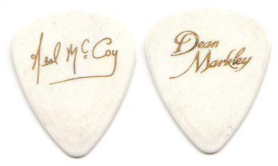 NEAL MCCOY Guitar Pick : tour signature - country music concert Dean Markley