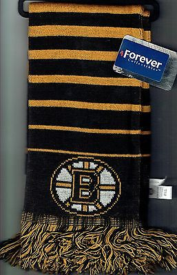 Boston Bruins Scarf Forever Collectibles NHL Hockey Black Gold