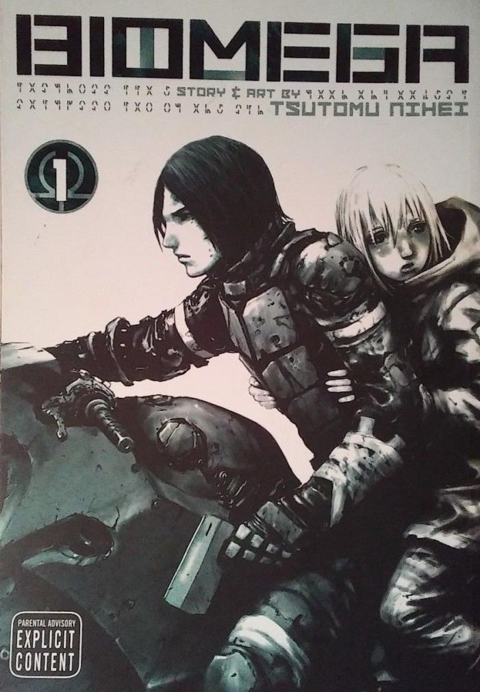 Biomega, Volume 1 by Tsutomu Nihei Paperback Book (English)